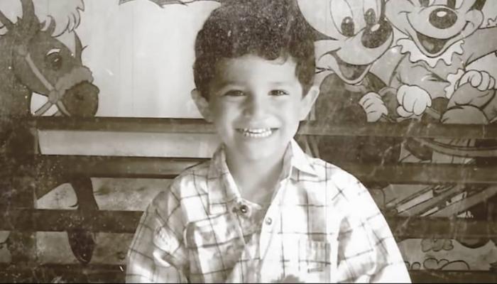 Jose Bobadilla de niño