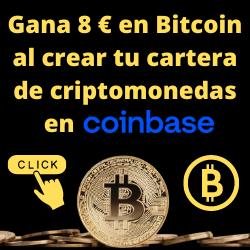 Gana 8 € en Bitcoin